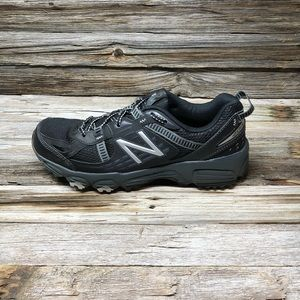 New Balance Men's MT410V4 Trail-Running Shoe Black